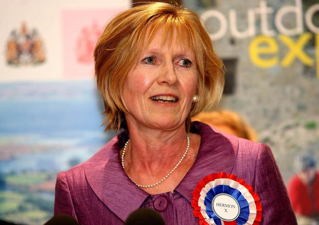 Independent North Down MP Lady Sylvia Hermon has been the sole voice in favour of the deal containing the backstop from Northern Ireland in the Commons (PA)