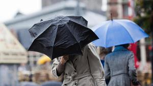 Heavy rain and thunderstorms have been forecast for Northern Ireland this weekend.