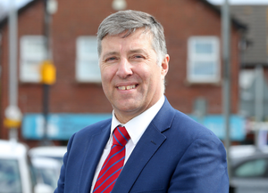 Repayment: DUP's Paul Girvan contacted the company involved