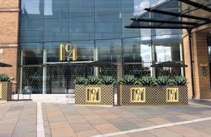 The new No 4 bar at the Hilton Belfast