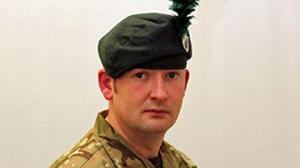 Corporal Geoffrey McNeill, whose body was discovered at Clive Barracks in Tern Hill, Shropshire.