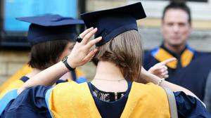 Lectures will be delivered online during the first term of the new academic year, Ulster University said (Chris Radburn/PA)