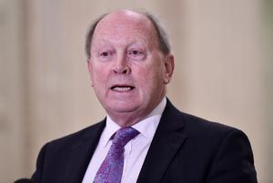 Legal matter: TUV leader Jim Allister questioned the claims by Brandon Lewis