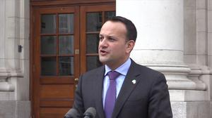Irish premier Leo Varadkar is concerned about the growing frustration among a number of EU countries over Brexit (Michelle Devane/PA)