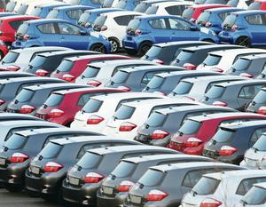 16%: New car registrations in Northern Ireland have risen by just over a sixth in the last year