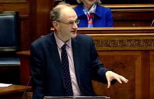 Stormont education minister Peter Weir