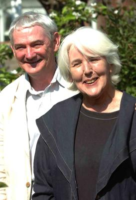 With husband Colin Carnegie
