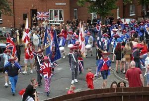 An event that brought people onto the streets, The Twelfth celebrations