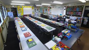 Weekly Covid-19 testing is to be introduced at special schools in Northern Ireland. (Liam McBurney/PA)