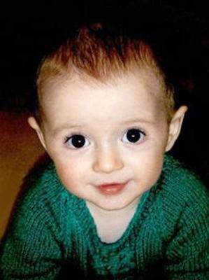 18-month-old Ryan Cox