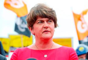Comments: Arlene Foster