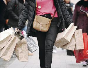 12.8%: Increase in number of people passing through stores in April compared to a year earlier