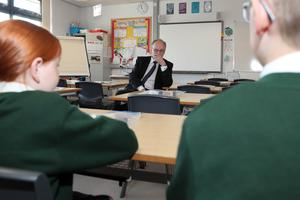 Difference of opinion: NI education minister Peter Weir