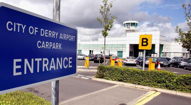 City of Derry Airport (Paul Faith/PA)