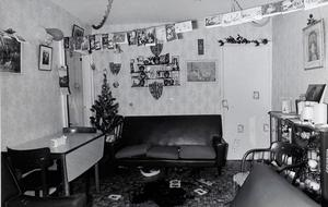 Brutality: The living room of the Reavey home in Whitecross where the gang of killers murdered John Martin, Brian and Anthony