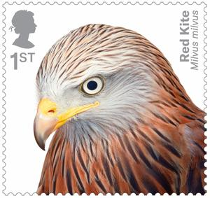 Birds of prey feature on the stamps