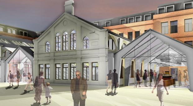 An artist's impression of what the new hotel will look like