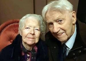 Husband and wife Ignatius (89) and Mary (86) O'Connell died from Covid-19