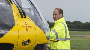 The Duke of Cambridge was a pilot for the East Anglian Air Ambulance (Heathcliff O'Malley/The Daily Telegraph/PA)