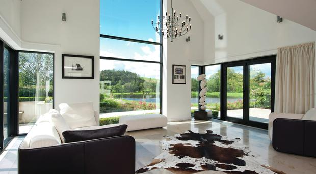 The extravagant interior at Robinhall House, the property once owned by golfer Rory McIlroy