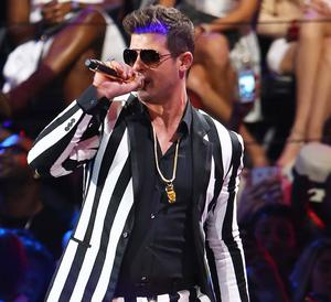 Blurred Lines singer Robin Thicke