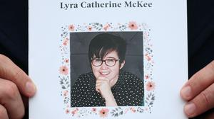 The order of service at the funeral of journalist Lyra McKee (Liam McBurney/PA)