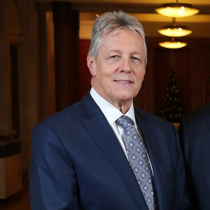 Peter Robinson will be hoping to leave hospital today