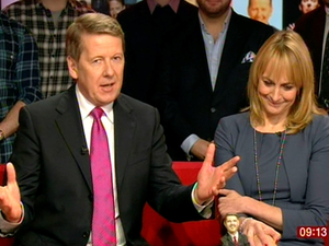 BBC Breakfast presenter Bill Turnbull was joined by colleagues as he stepped down yesterday