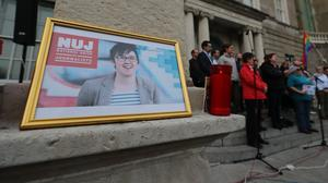 The funeral of Lyra McKee is due to take place (Niall Carson/PA)