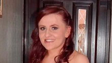 Scene: Lucy McIlhatton (24) who died after a crash on the Springfield Road in west Belfast on Sunday evening