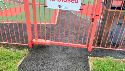 Causeway Coast and Glens Borough Council has been forced to close its play park at Millburn Road in Coleraine due to vandalism.