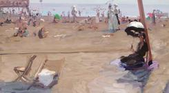 Bathing, Lido, Venice, 1912 by Belfast artist Sir John Lavery