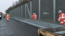 The G8 security fence will stretch for several miles around the luxury Lough Erne golf resort (PSNI/PA)
