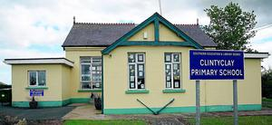 Clintyclay Primary School is being closed by Education Minister John O'Dowd