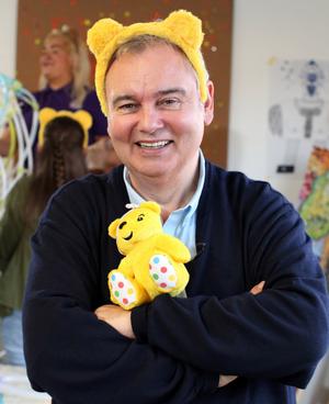 Eamonn Holmes helps launch Children in Need with Pudsey the Bear