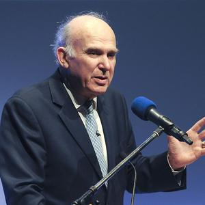 Vince Cable said investment in the Londonderry power plant is a 'landmark moment for the UK Green Investment Bank'