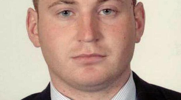 Constable Ronan Kerr was killed when a dissident republican bomb exploded in his car
