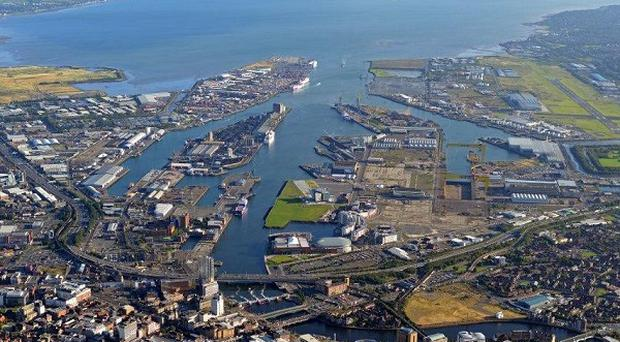 Tourists keen to explore the Titanic heritage have helped trade at Belfast Harbour