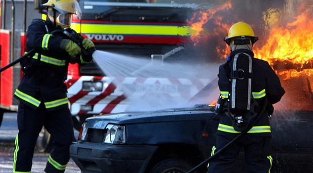 Only 21 women work in a group of almost 1,000 part-time firefighters in Northern Ireland