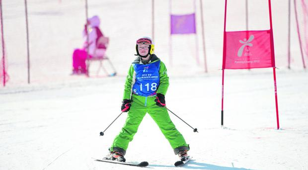 Going for gold: Rosalind Connolly from Portadown