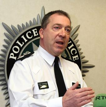 PSNI Chief Constable Matt Baggott said he understood the concerns over accountability