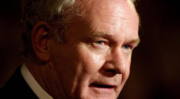 Like all Sinn Fein MPs, Martin McGuinness never took his seat in the Commons