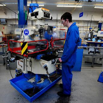 Apprenticeships have lost some of their earlier status, Stephen Farry believes