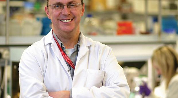 Professor Alan Stitt, director of Queen's University Centre for Vision and Vascular Science