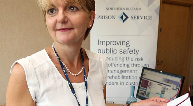 Sue McAllister, director general of the Northern Ireland Prison Service