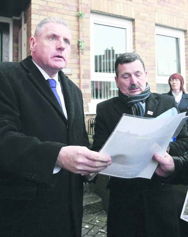 Vernon Coaker MP meets relatives of the 11 people shot dead in Ballymurphy in 1971