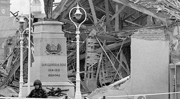 Detectives from the Historical Enquiries Team have been investigating the Enniskillen bombing