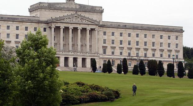 The listed building where the Northern Ireland Assembly meets will remain open throughout work to fix a leaking roof