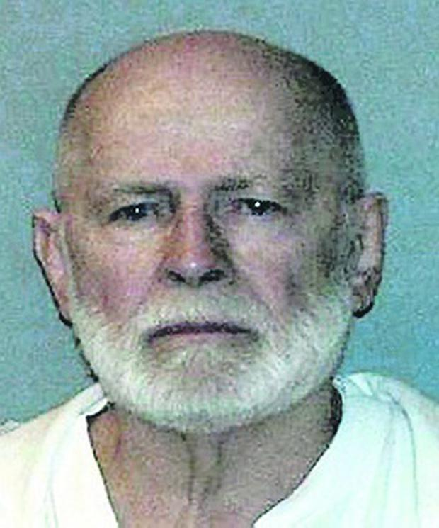 "Boston gangster James ""Whitey"" Bulger"