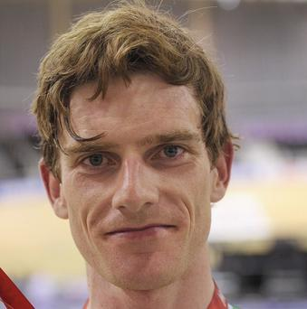 Martyn Irvine has become the first Irishman to win a gold medal at the World Track Championships for 117 years